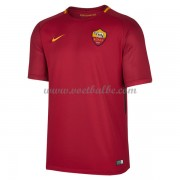 Voetbaltenue AS Roma thuisshirt 2017-18..