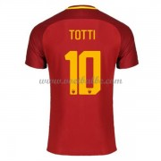 Voetbaltenue AS Roma Totti 10 thuisshirt 2017-18..