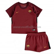 Voetbalshirts kids AS Roma thuis tenue 2017-18..