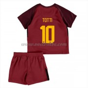 Voetbalshirts kids AS Roma Totti 10 thuis tenue 2017-18..