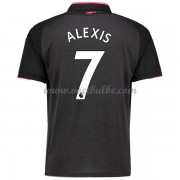 Voetbaltenue Arsenal Alexis Sanchez 7 third shirt 2017-18..