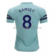 Goedkoop Voetbaltenue Arsenal 2018-19 Aaron Ramsey 8 Third Shirt..