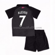 Voetbalshirts kids Arsenal Alexis Sanchez 7 third tenue 2017-18..