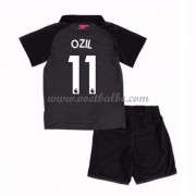 Voetbalshirts kids Arsenal Mesut Ozil 11 third tenue 2017-18..