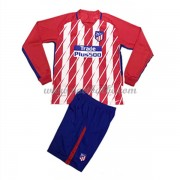 Voetbaltenue Atletico Madrid thuisshirt lange mouw 2017-18..