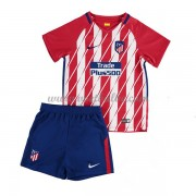 Voetbalshirts kids Atletico Madrid thuis tenue 2017-18..