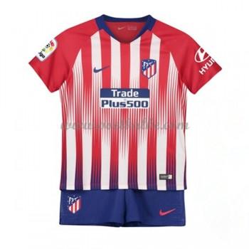 Goedkope Voetbalshirts Atletico Madrid Tenue Kind 2018-19 Thuisshirt