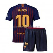 Goedkope Voetbalshirts Barcelona Tenue Kind 2018-19 Lionel Messi 10 Thuisshirt