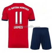 Goedkope Voetbalshirts Bayern München Tenue Kind 2018-19 James Rodriguez 11 Thuisshirt..