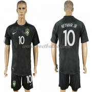 Voetbaltenue Braziliëië WK 2018 Neymar JR 10 third shirt..