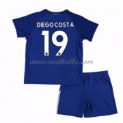 Voetbalshirts kids Chelsea Diego Costa 19 thuis tenue 2017-18..