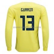Voetbalshirt Colombia 2018 FRooddy Guarin 13 thuis tenue lange mouw..