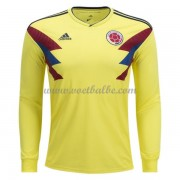 Voetbalshirt Colombia 2018 thuis tenue lange mouw..