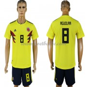 Voetbaltenue Colombia WK 2018 Abel Aguilar 8 thuisshirt..