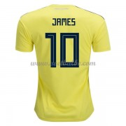 Voetbaltenue Colombia WK 2018 James Rodriguez 10 thuisshirt..