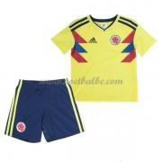 Voetbalshirts kids Colombia 2018 thuis tenue