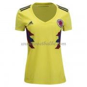 Goedkope Voetbaltenue Colombia Dames 2018 thuisshirt..