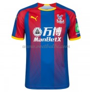 Goedkoop Voetbaltenue Crystal Palace 2018-19 Thuisshirt..