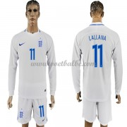 Voetbalshirt England 2018 Lallana 11 thuis tenue lange mouw..