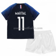 Voetbalshirts kids Frankrijk 2018 Anthony Martial 11 thuis tenue ..