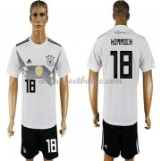 Voetbalshirt Duitsland 2017 Joshua Kimmich 18 thuis tenue..