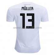 Voetbalshirt Duitsland 2017 Thomas Muller 13 thuis tenue..