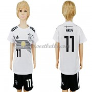 Voetbalshirts kids Duitsland 2018 Marco Reus 11 thuis tenue ..