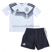Voetbalshirts kids Duitsland 2018 thuis tenue