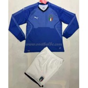 Voetbalshirts kids Italië 2018 thuis tenue lange mouw..