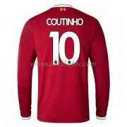 Voetbaltenue Liverpool Philippe Coutinho 10 thuisshirt lange mouw 2017-18..