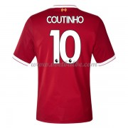 Voetbaltenue Liverpool Philippe Coutinho 10 thuisshirt 2017-18..