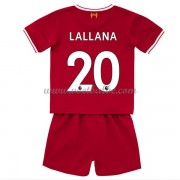 Voetbalshirts kids Liverpool Adam Lallana 20 thuis tenue 2017-18..