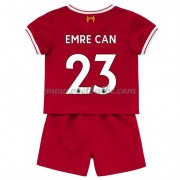 Voetbalshirts kids Liverpool Emre Can 23 thuis tenue 2017-18..