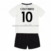 Voetbalshirts kids Liverpool Philippe Coutinho 10 uit tenue 2017-18..