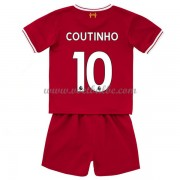Voetbalshirts kids Liverpool Philippe Coutinho 10 thuis tenue 2017-18..