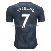 Voetbaltenue Manchester City Raheem Sterling 7 third shirt 2017-18..