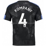 Voetbaltenue Manchester City Vincent Kompany 4 third shirt 2017-18..
