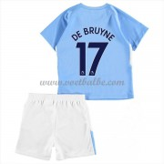 Voetbalshirts kids Manchester City De Bruyne 17 thuis tenue 2017-18..