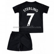 Voetbalshirts kids Manchester City Raheem Sterling 7 third tenue 2017-18..