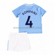 Voetbalshirts kids Manchester City Vincent Kompany 4 thuis tenue 2017-18..