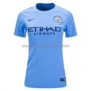 Goedkope Voetbaltenue Manchester City Dames 2017-18 thuisshirt..