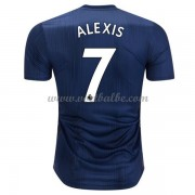 Goedkoop Voetbaltenue Manchester United 2018-19 Alexis Sanchez 7 Third Shirt..