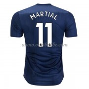 Goedkoop Voetbaltenue Manchester United 2018-19 Anthony Martial 11 Third Shirt..