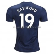 Goedkoop Voetbaltenue Manchester United 2018-19 Marcus Rashford 10 Third Shirt..