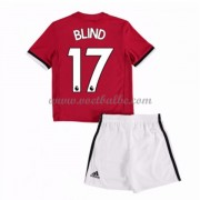 Voetbalshirts kids Manchester United Blind 17 thuis tenue 2017-18..