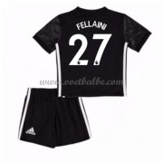 Voetbalshirts kids Manchester United Fellaini 27 uit tenue 2017-18..