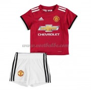 Voetbalshirts kids Manchester United thuis tenue 2017-18..