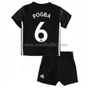 Voetbalshirts kids Manchester United Paul Pogba 6 uit tenue 2017-18..