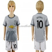 Voetbalshirts kids Manchester United Wayne Rooney 10 third tenue 2017-18..