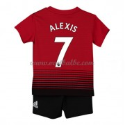 Goedkope Voetbalshirts Manchester United Tenue Kind 2018-19 Alexis Sanchez 7 Thuisshirt..